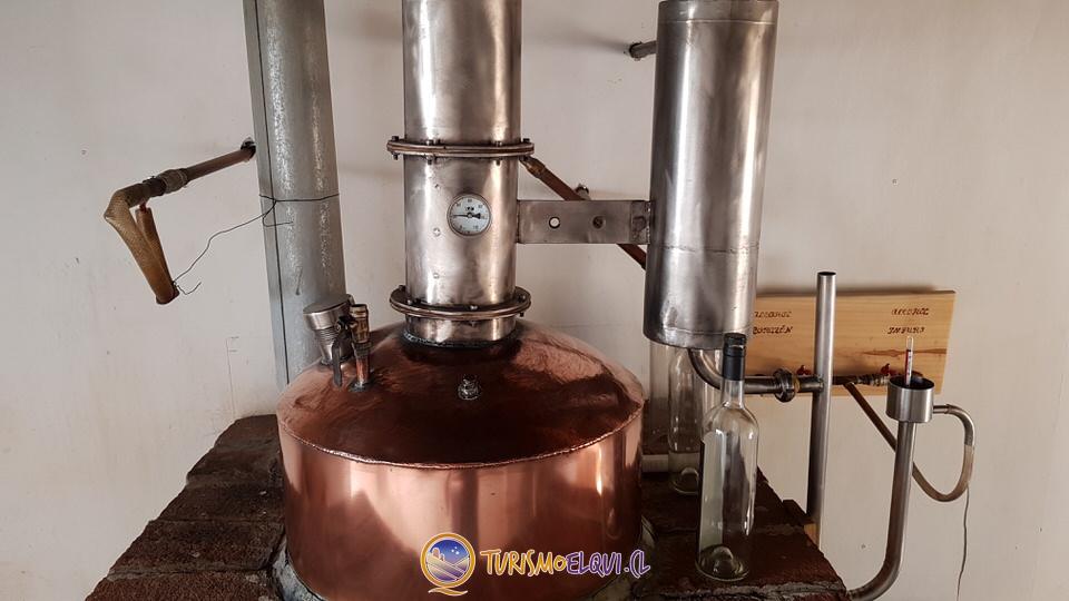 Destilacion Pisco Doña Josefa del Elqui