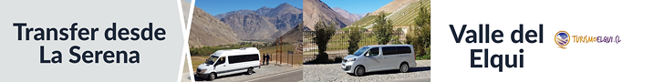 Transfer desde La Serena a Valle de Elqui